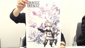 Illustration de Bravely Default Fairy's Effect
