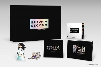 Édition collector japonaise de Bravely Second: End layer